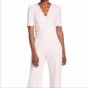 Harper Rose Scallop V-Neck Jumpsuit